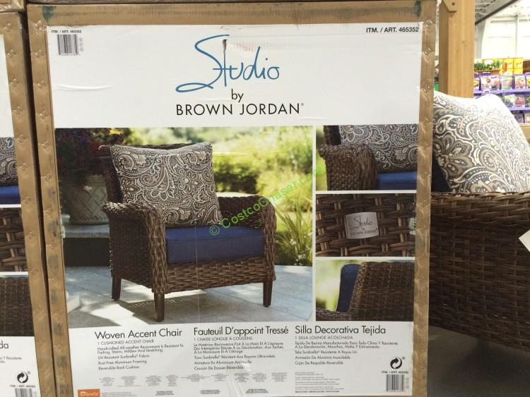 Pleasant Brown Jordan Woven Accent Chair Costcochaser Pabps2019 Chair Design Images Pabps2019Com
