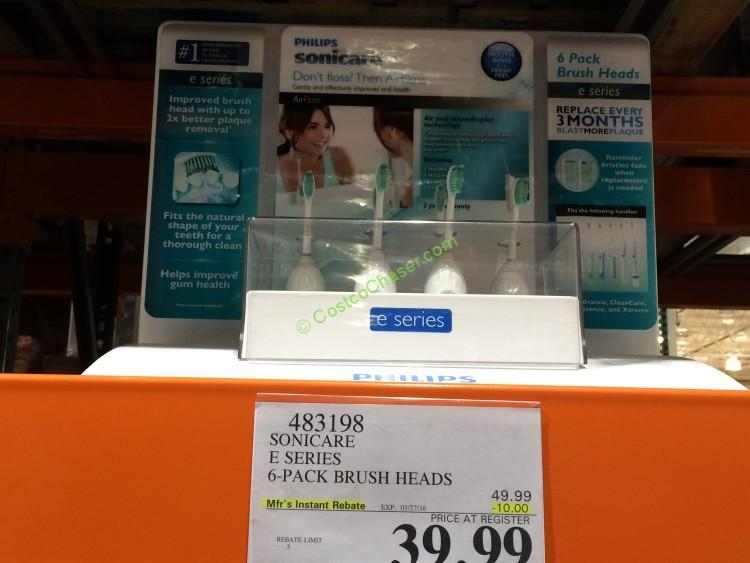 photo relating to Sonicare Printable Coupon named Costco sonicare brush heads coupon - Tradetang coupon code