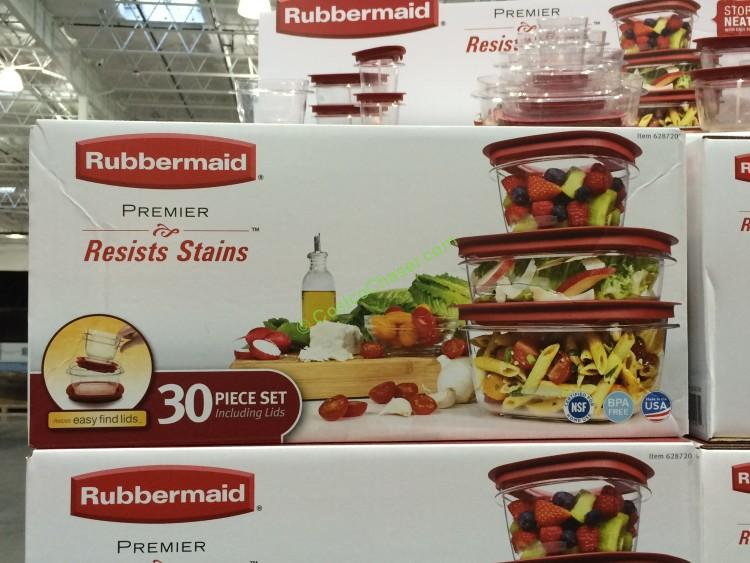 Rubbermaid 30pc Premier Food Storage Set Costcochaser