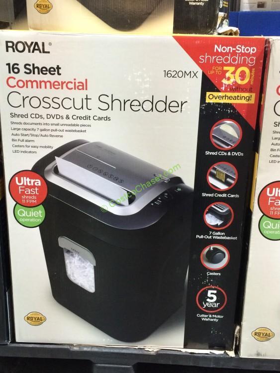 Royal16-Sheet Cross-cut Shredder