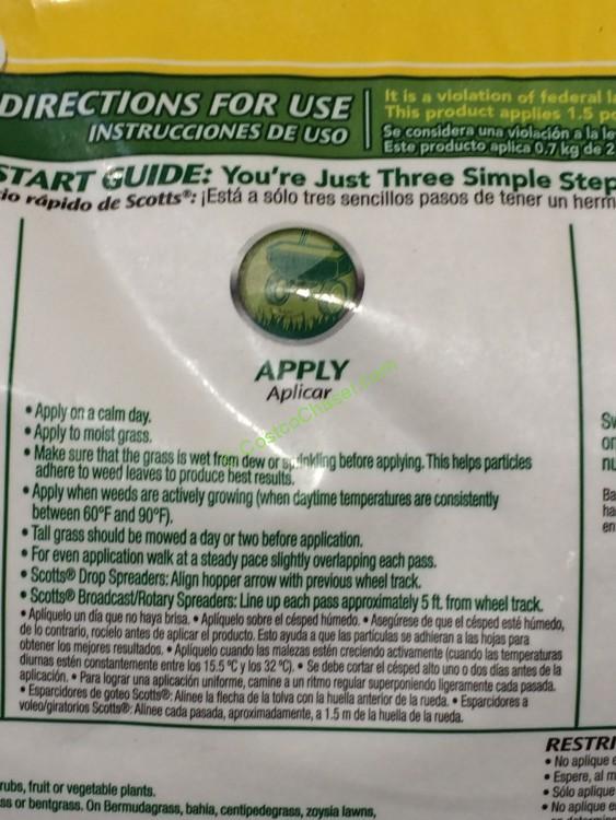 Scotts Turfbuilder Fertilizer Weed Feed Costcochaser