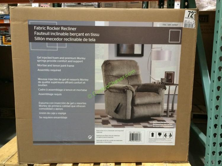 Incredible Franklin Fabric Recliner Costcochaser Gmtry Best Dining Table And Chair Ideas Images Gmtryco