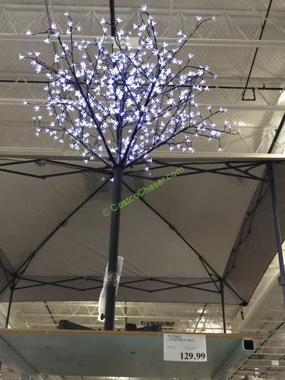7' Led Blossom Tree with 600 Cool White LED Lights