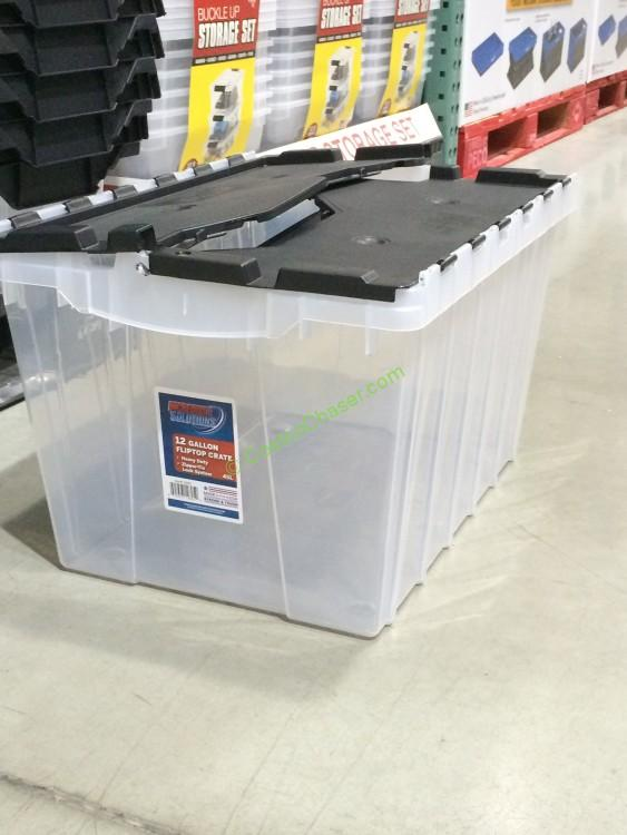 Incredible Solutions Commercial Crate 12 Gallon. Model# 12805