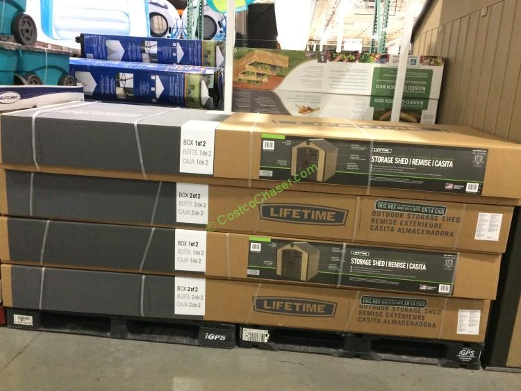 Costco 853280 Lifetime Products 8 7.5 Resin Outdoor