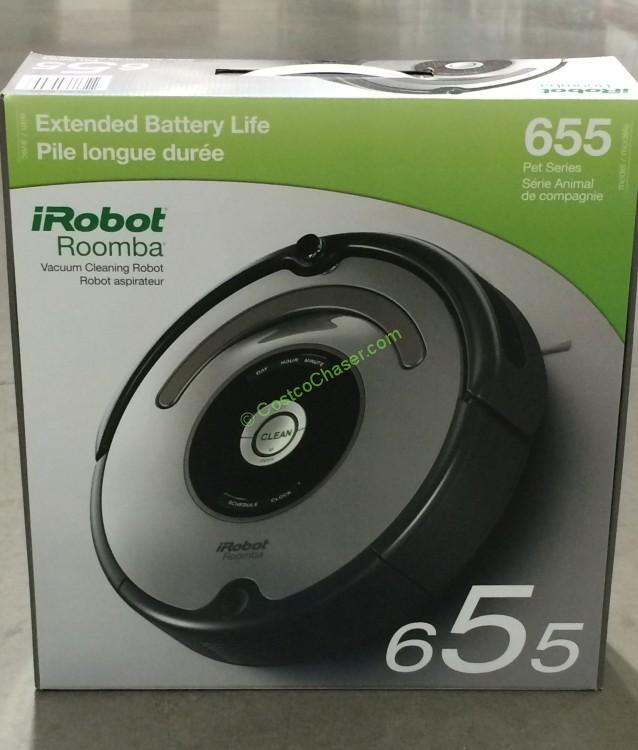 iRobot Roomba 655 Pet Series Vacuum Cleaning Robot