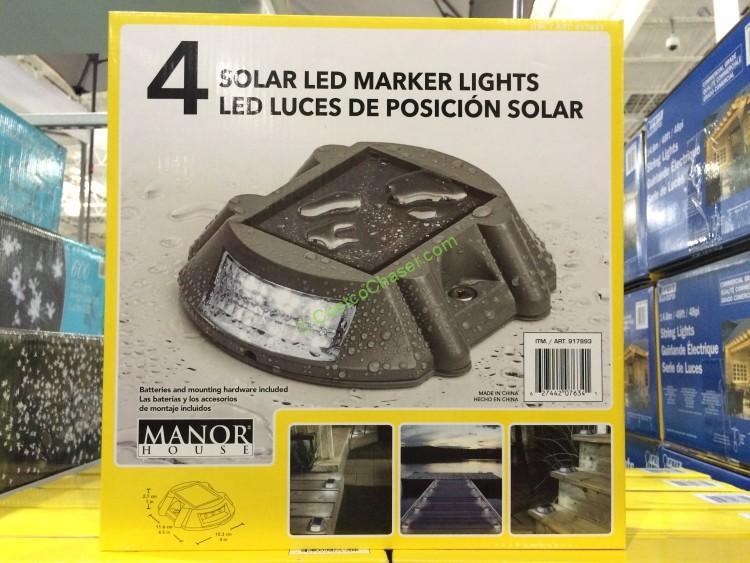 Solar Dock Lights Costco Shelly Lighting