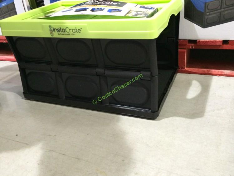 Instacrate Collapsible 12 Gallon Storage Bin