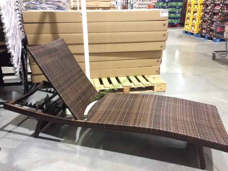 Patio chaise lounge chairs costco crunchymustard for Ava chaise lounge costco