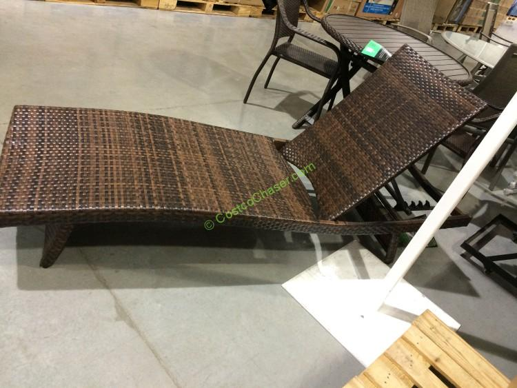 Aloha woven chaise lounge costcochaser for Chaise lounge costco