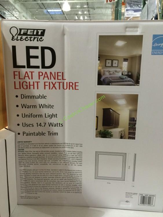 Costco Feit Led Patio Lights: Costco-944464-feit-electric-15-15-led-flushmount-fixture