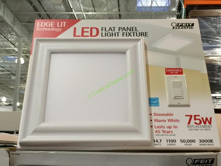 best service bc084 3ddbb Led Ceiling Light: Led Ceiling Light Fixture Costco