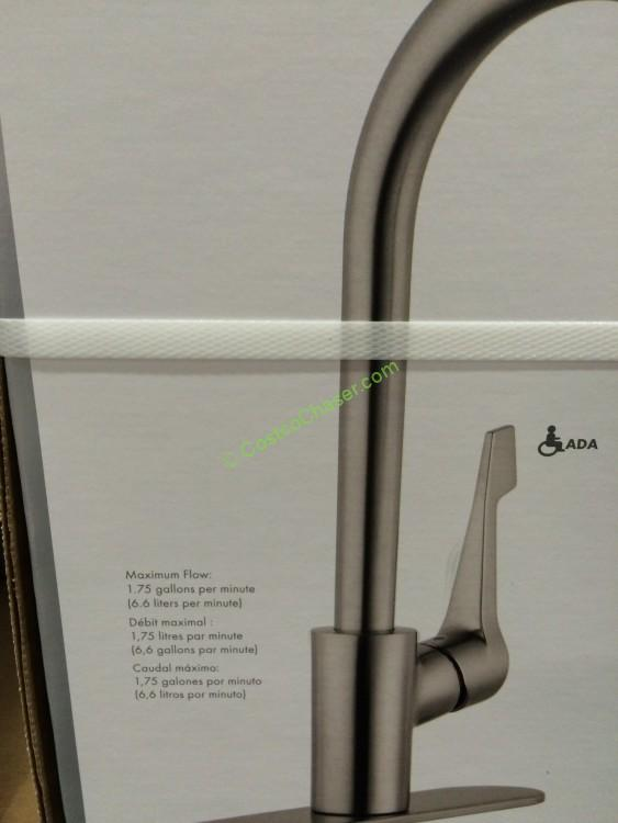 Costco Hansgrohe Cento Kitchen Faucet