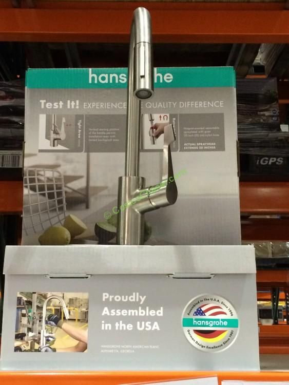 28 faucets costco hansgrohe cento kitchen hansgrohe