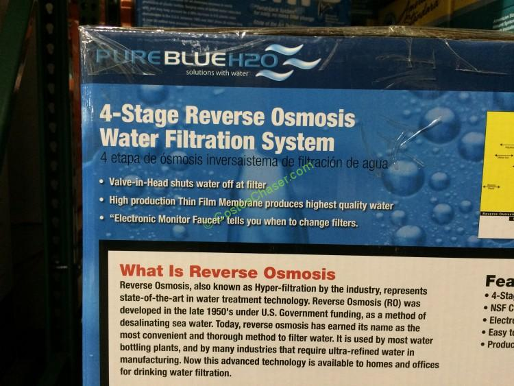 Pure Blue H2O 4-Stage RO Water Filtration System ...