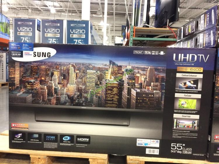 "Samsung 55"" (54.6"" Diag.) 4K Ultra HD Smart LED LCD TV UN55JU640D"