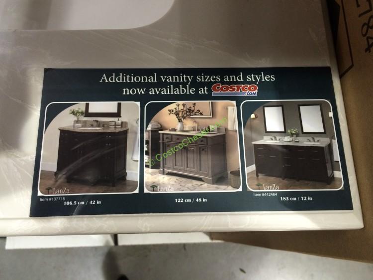 Costco 962784 28 Single Sink Wood Vanity Costcochaser