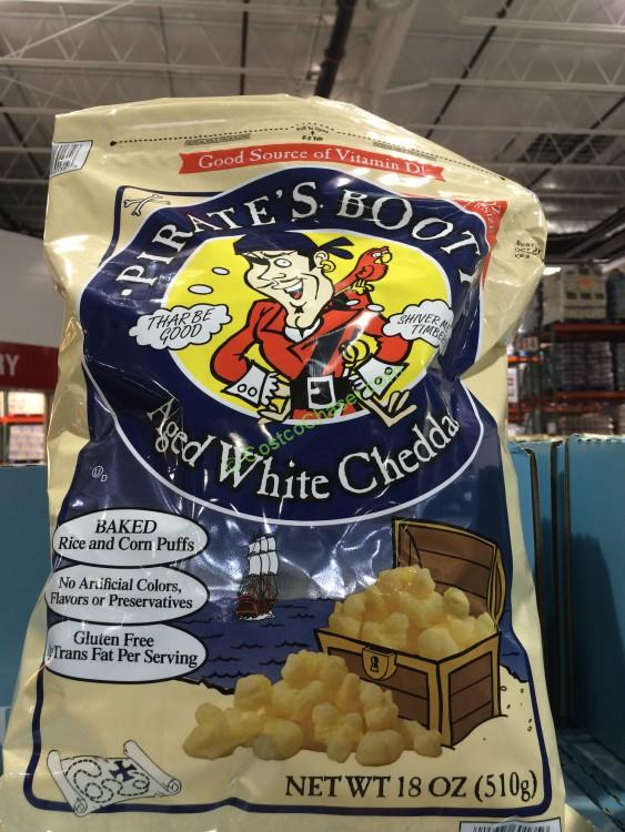 Pirate's Booty Aged White Cheddar 18 Ounce Bag