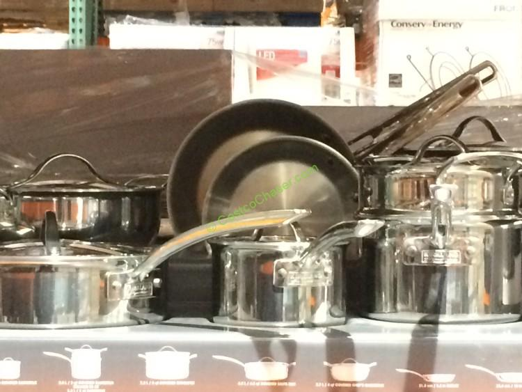 Kirkland Signature 13 Pc Stainless Steel Tri Ply Clad