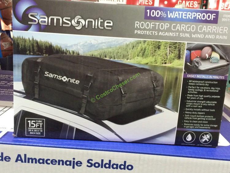 Samsonite Roof Top Carrier Water Proof
