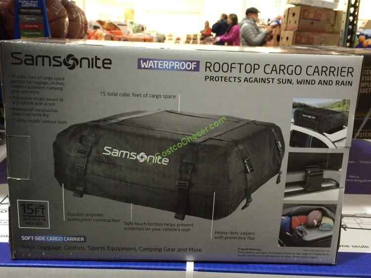 Samsonite Roof Top Carrier Water Proof Costcochaser