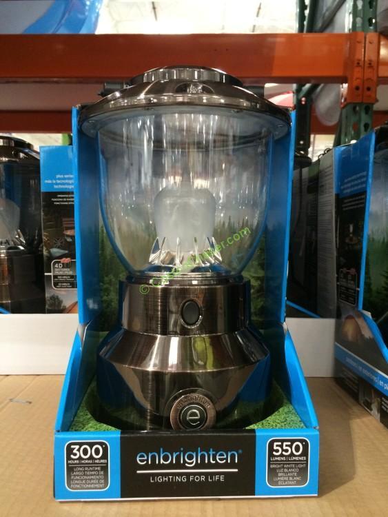 Enbrighten 550 Lumen Lantern Costcochaser