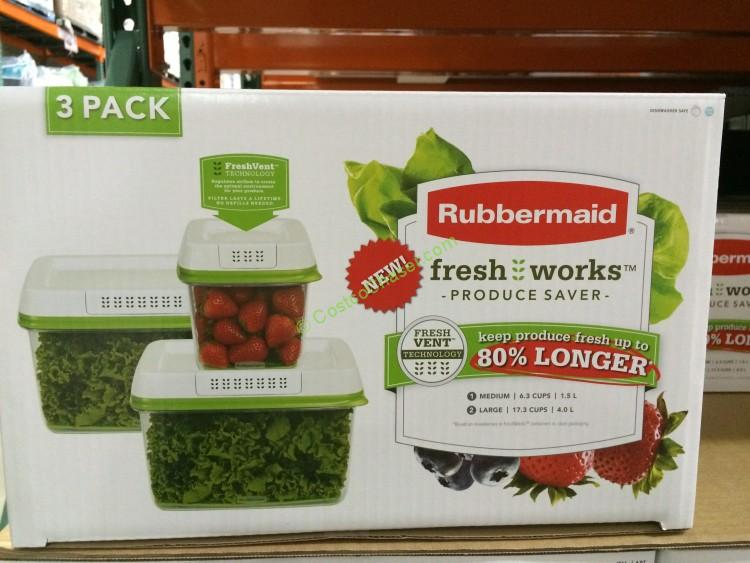 Rubbermaid Produce Preservation Set