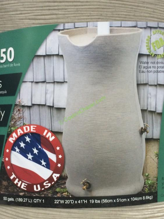 Good Ideas 50 Gallon Rain Barrel Costcochaser