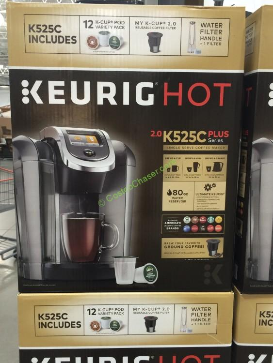 Keurig K525C Coffee Maker with 12 K-Cup Pods