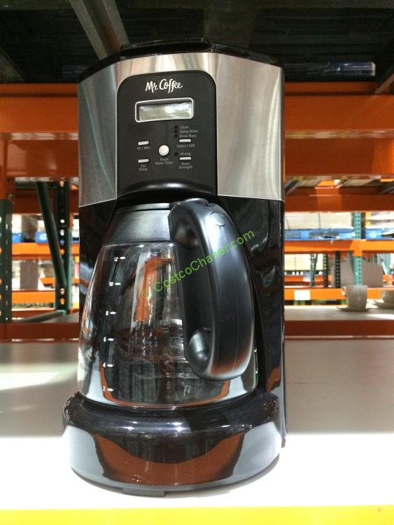 Mr. Coffee 12-Cup Programmable Coffee Maker, Model# BVMC-ECX41CP CostcoChaser