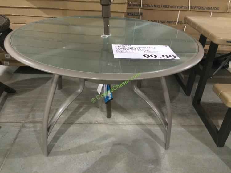 Kirkland Signature Commercial 50 Round Table Costcochaser