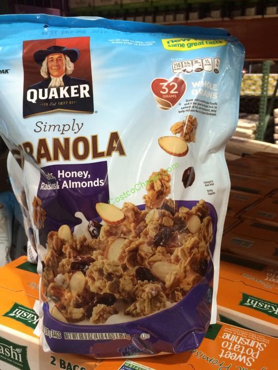 Quaker Simply Granola 2/34.5 Ounce Bags