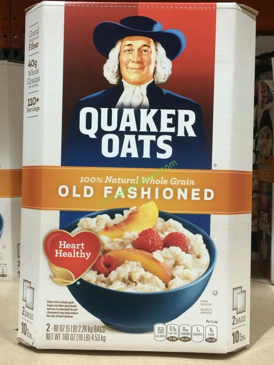 Quaker Old Fashioned Oatmeal 2/5 Pound Bag