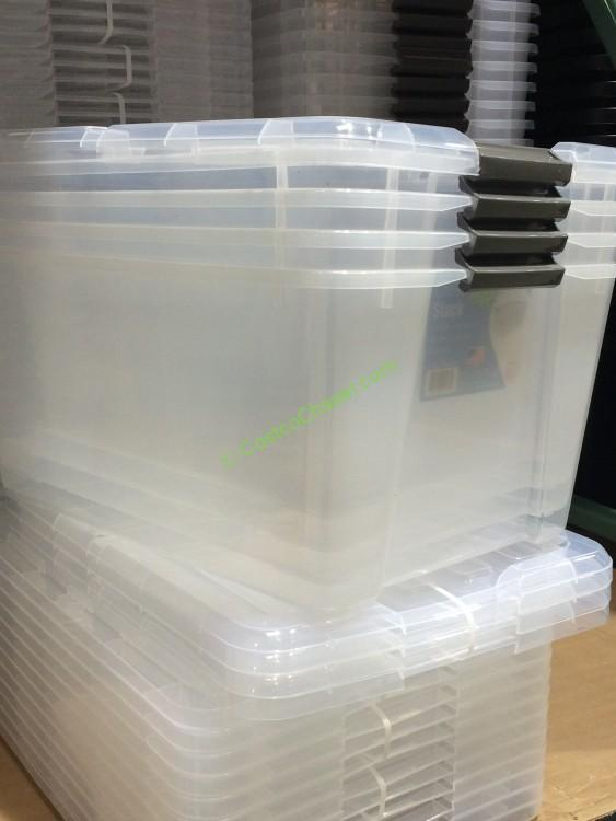 Iris Storage Box 3 Pack 45 Quart 11 5 Gallon Costcochaser