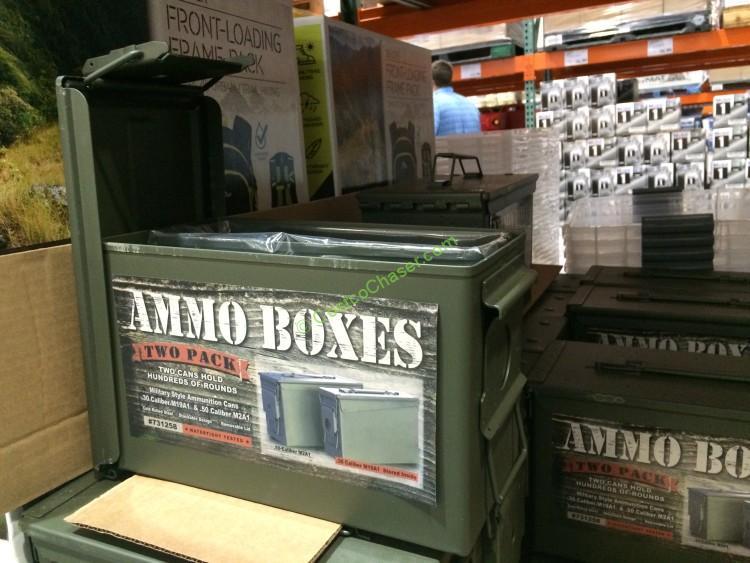 Metal Ammo Box 2 Pack Costcochaser