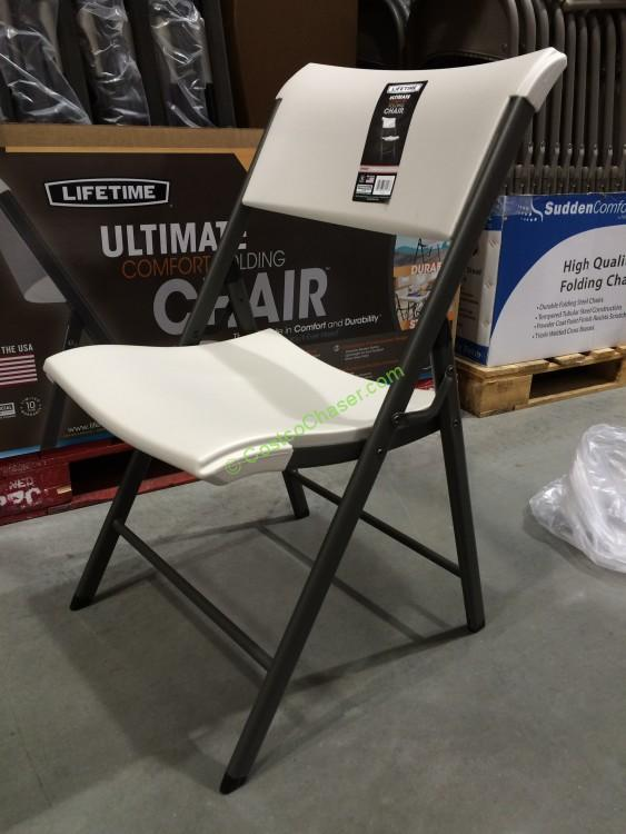 Costco 845490 Lifetime S Folding Chair