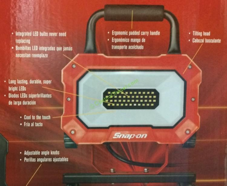 Costco 922261 Snap On Led Worklight 2000 Lumens Part