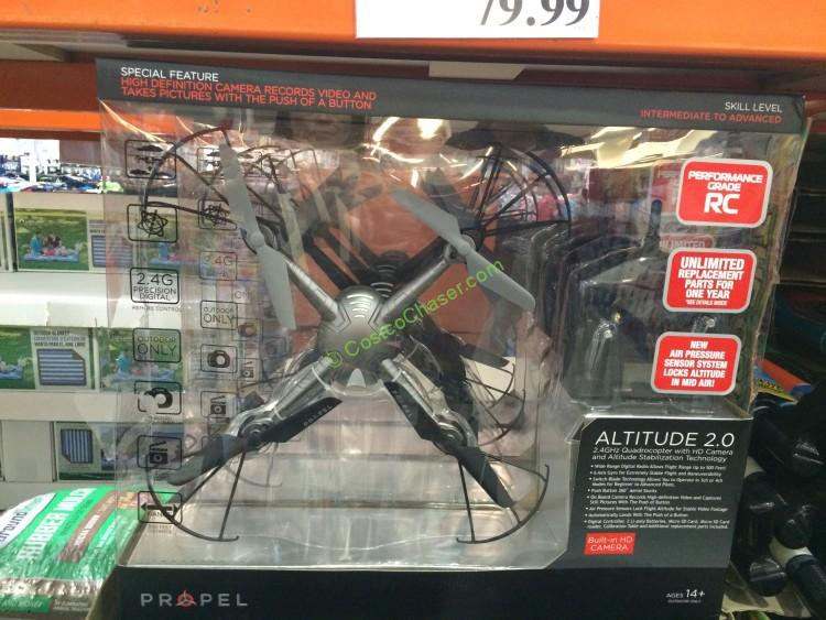 Costco 945082 Propel Altitude 2 Outdoor Drone With Hd