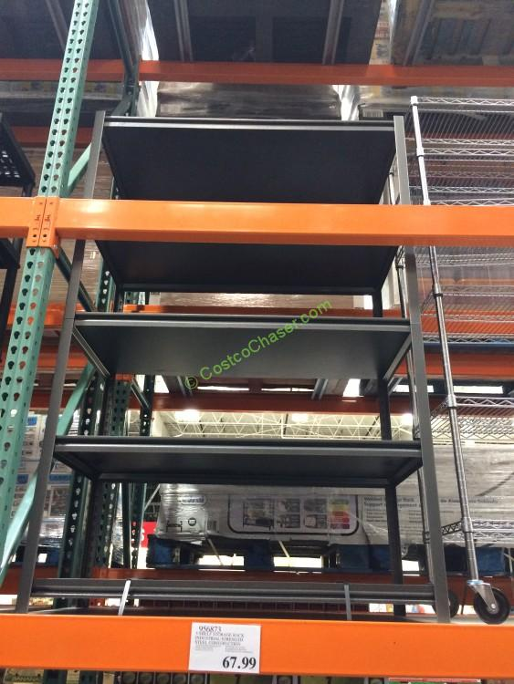 Beau Costco 956873 5 Shelf Storage Rack Industrial Strength