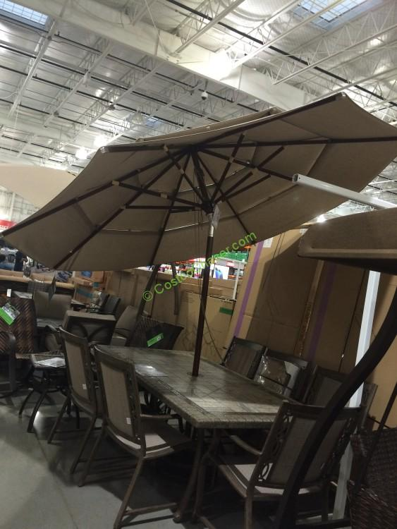 Proshade 11' Market Umbrella with Hardwood Pole