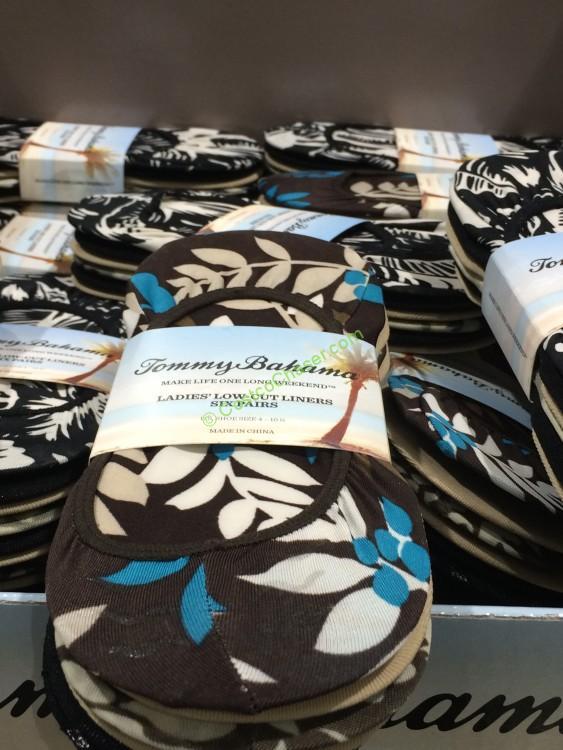 Tommy Bahama Ladies' Low-Cut Liner Sock 6-pair