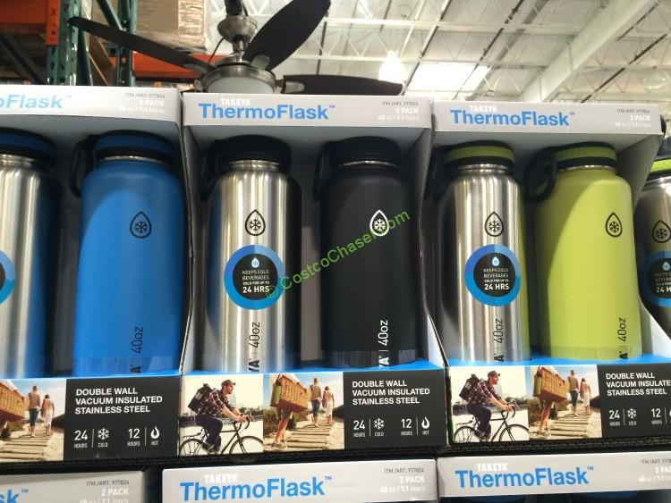 Takeya 2 PK Thermoflask Water Bottles