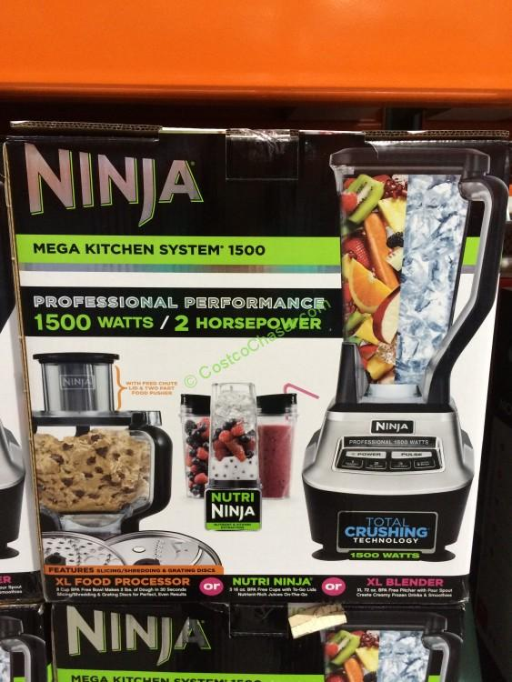 Ninja Mega Kitchen System with Slicing/Shredding, Model ...