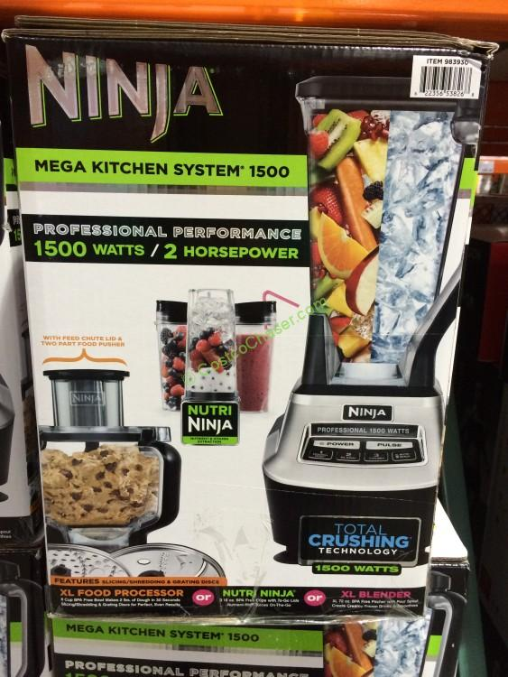 ninja mega kitchen system with slicing/shredding, model# bl773co