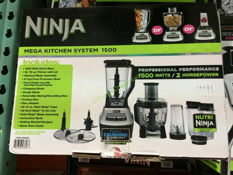 ninja mega kitchen system with slicing/shredding, model# bl773co