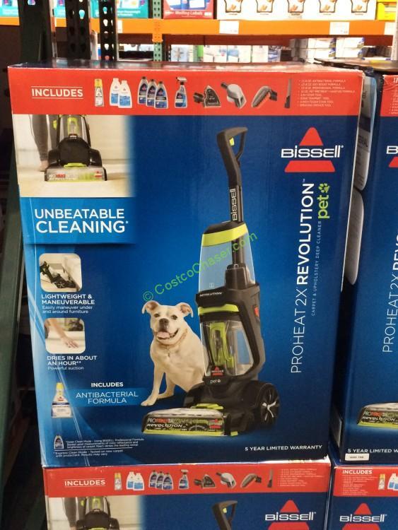 Bissell Proheat 2X Revolution Pet Carpet Cleaner, Model#1548P