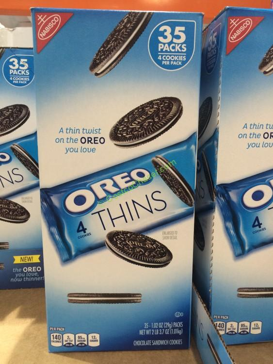 Nabisco Single Serve Oreo Thins 35 Count Package