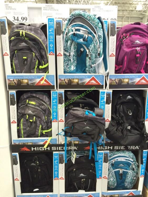 High Sierra Riprap Daypack Costcochaser