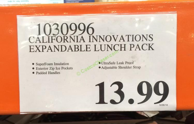 California Innovations Expandable Lunch Pack – CostcoChaser
