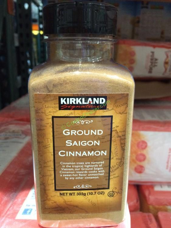 Kirkland Signature Saigon Cinnamon 10.7 Ounce Container
